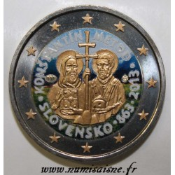 SLOVAKIA - 2 EURO 2013 - 1150 years of the Byzantine mission - COLOR