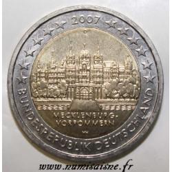 GERMANY - 2 EURO 2007 - CASTLE OF SCHWERIN