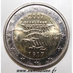 FINLAND - 2 EURO 2007 - 90 YEARS OF INDEPENDENCE