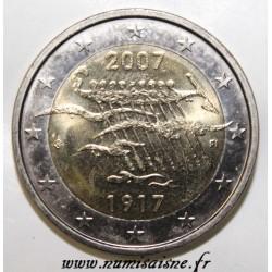 FINLANDE - 2 EURO 2007 - 90 ANS DE L'INDÉPENDANCE