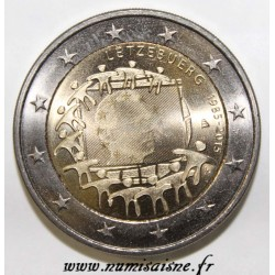 LUXEMBOURG - 2 EURO 2015 - 30TH ANNIVERSARY OF THE EUROPEAN FLAG