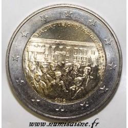 MALTE - 2 EURO 2012 - REPRÉSENTATION MAJORITAIRE DE 1887