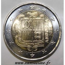 ANDORRE - KM 527 - 2 EURO 2015
