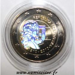 PORTUGAL - 2 EURO 2010 - 100 ANS RÉPUBLIQUE PORTUGAISE - HOLOGRAMME