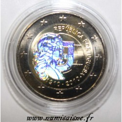 PORTUGAL - 2 EURO 2010 - 100 YEARS PORTUGUESE REPUBLIC - HOLOGRAM