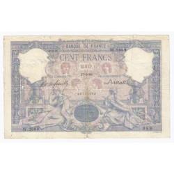 FAY 21/12 - 100 FRANCS BLEU ET ROSE - 27.06.1899 - TRES BEAU - PICK 65