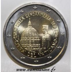 VATICAN - 2 EURO 2016 - BICENTENAIRE DE LA GENDARMERIE DU VATICAN