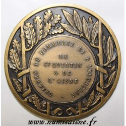 FRANCE - MEDAL - COMPETITION OF FLOWERED COMPANIES