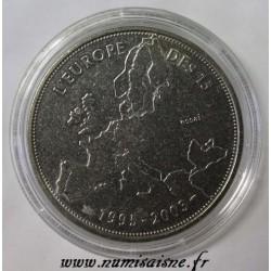 FRANCE - MÉDAILLE - L'EUROPE DES 15 - 1995 - 2003