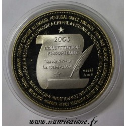 FRANCE - MEDAL - EUROPEAN CONSTITUTION - 2005