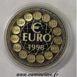 FRANCE - MÉDAILLE - EUROPA - FOOTBALL 1998