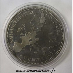 FRANCE - MEDAL - BIRTH OF EUROPE - 2002