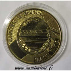 FRANCE - MEDAL - CHANNEL TUNNEL - 1990