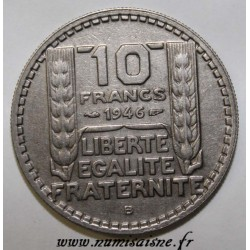 FRANCE - KM 908.2 - 10 FRANCS 1946 B - Beaumont le Roger - TYPE TURIN RC