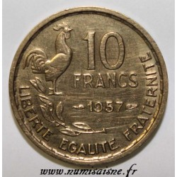 FRANCE - KM 915.1 - 10 FRANCS 1957 - TYPE GUIRAUD