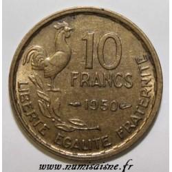 FRANCE - KM 915.1 - 10 FRANCS 1950 - TYPE GUIRAUD