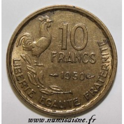 GADOURY 812 - 10 FRANCS 1950 - TYPE GUIRAUD - KM 915.1