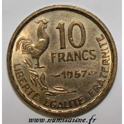 FRANCE - KM 915.1 - 10 FRANCS 1958 - TYPE GUIRAUD