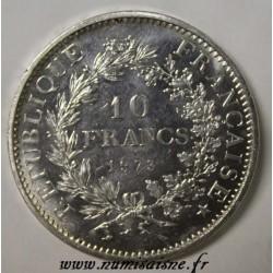 GADOURY 813 - 10 FRANCS 1973 - TYPE HERCULE - KM 932