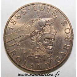 FRANCE - KM 965 - 10 FRANCS 1988 - TYPE ROLAND GARROS - EDGE B