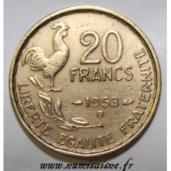 FRANCE - KM 917 - 20 FRANCS 1953 B - TYPE G.GUIRAUD