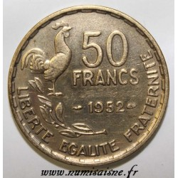 FRANCE - KM 918.1 - 50 FRANCS 1952 - TYPE GUIRAUD
