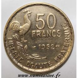 GADOURY 880 - 50 FRANCS 1952 - TYPE GUIRAUD - KM 918.1