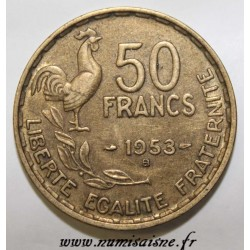 FRANCE - KM 918.1 - 50 FRANCS 1953 B TYPE GUIRAUD