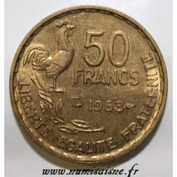 FRANCE - KM 918.1 - 50 FRANCS 1953 - TYPE GUIRAUD