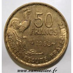 GADOURY 880 - 50 FRANCS 1953 - TYPE GUIRAUD - KM 918.1