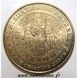 BELGIQUE - LES NUMISMATES DE BRUXELLES - MDP - 2007