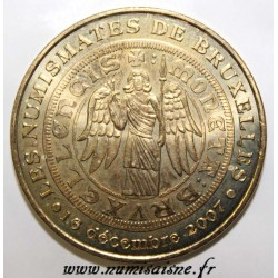 BELGIUM - THE NUMISMATES OF BRUSSELS - MDP - 2007