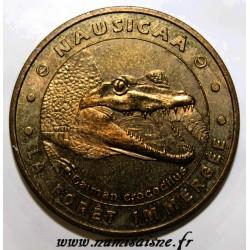 62 - BOULOGNE SUR MER - NAUSICAA - LA FORÊT IMMERGÉE - CAÏMAN - MDP - 2004