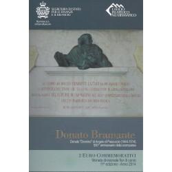 SAINT-MARIN - 2 EURO 2014 - 500ème Anniversaire de la mort de Donato Bramante