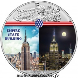 USA - 1 DOLLAR 2020 - EMPIRE STATE BULDING - 1 OZ SILVER