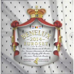 BENELUX - EURO COINSET BU 2014 (11.64 euros) + 1 MEDAL