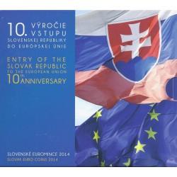 SLOVAQUIE - COFFRET EURO BRILLANT UNIVERSEL 2014 - 9 PIECES (5.88 euros)