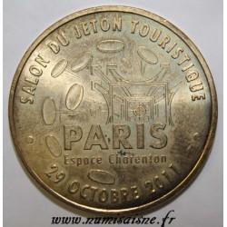 75 - PARIS - SALON DU JETON TOURISTIQUE - 29 OCTOBRE - ESPACE CHARENTON- MDP - 2011