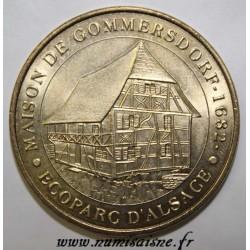 68 - UNGERSHEIM - MAISON DE GOMMERSDORF 1682 - ECOPARC D'ALSACE - MDP - 2010