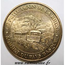 64 - SARE - LE PETIT TRAIN DE LA RHUNE - SOMMET DU PAYS BASQUE - MDP - 2010