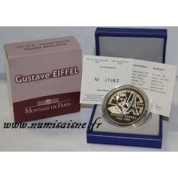 GUSTAVE EIFFEL - 1832 - 1923 - 10 EURO 2009 - ARGENT - OCCASION