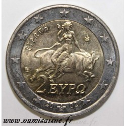 GREECE - KM 188 - 2 EURO 2002 S