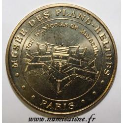 County 75 - PARIS - MUSEUM OF RELIEF PLANS - CASTLE SAINT NICOLAS OF MARSEILLE - MDP - 2010