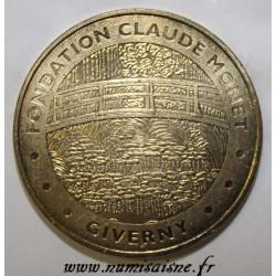County 27 - GIVERNY - CLAUDE MONET FOUNDATION - THE JAPANESE BRIDGE - MDP - 2012