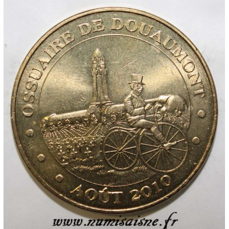County 55 - DOUAUMONT - OSSUARY - VELOCIPEDE - MDP - 2010