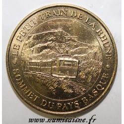 64 - SARE - LE PETIT TRAIN DE LA RHUNE - SOMMET DU PAYS BASQUE - MDP - 2007