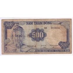 VIETNAM - PICK 23 x - 500 DONG - CONTREFACON - NON DATE (1966) - TRES BEAU