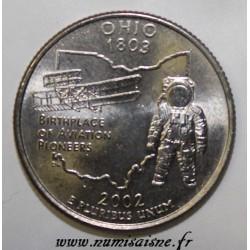 UNITED STATES - KM 332 - 1/4 DOLLAR 2002 D - Denver - OHIO