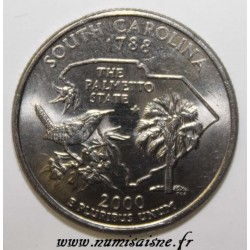 UNITED STATES - KM 307 - 1/4 DOLLAR 2000 P - SOUTH CAROLINA