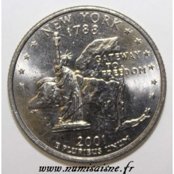 UNITED STATES - KM 318 - 1/4 DOLLAR 2001 D - NEW YORK
